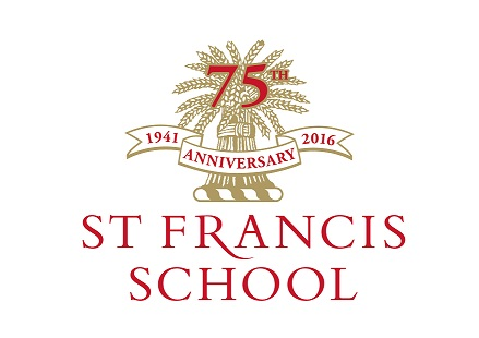 ST FRANCIS 75TH LOGO on white sml for web